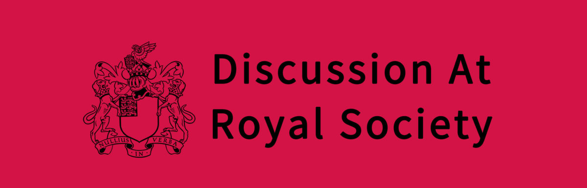 Discussion At Royal Society