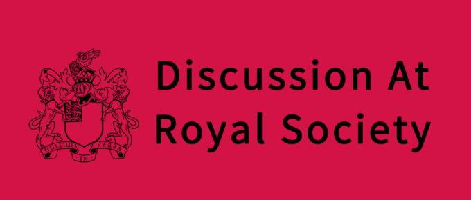 Discussion At Royal Society